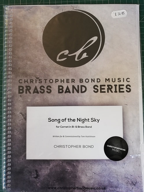 Song of the Night Sky, Christopher Bond - Brass Band