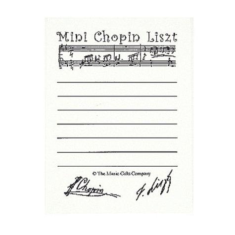 Mini Chopin Liszt Post-It® Notes