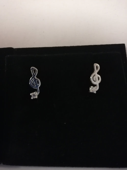 Earrings Treble Clef