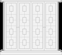 Kensington style door forbuilt in wardrobe