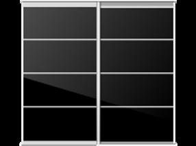 Luxury custom sliding wardrobe doors