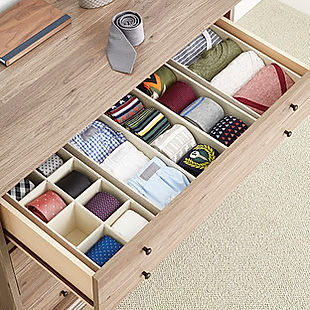 Tie Orginiser for Fitted Wardrobe