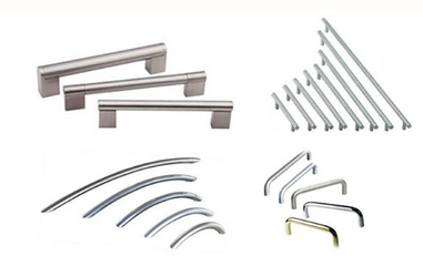 D handles for Fitted Wardrobes
