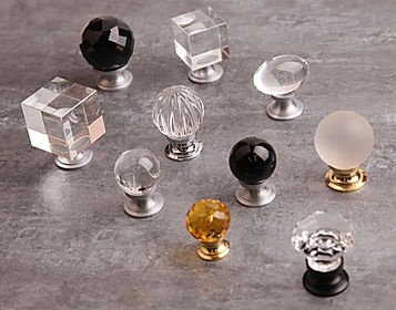 Crystal knobs for Fitted Wardrobes