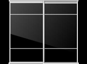 Customised sliding wardrobe doors
