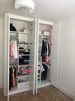 Alternate layout for Fitted Wardrobe