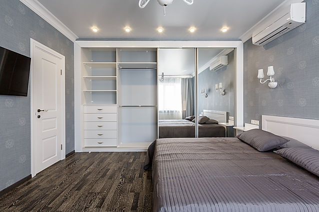 Contemporary Built in wardrobe