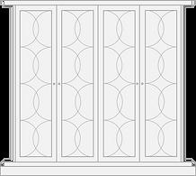 Mayfair style door for built in wardrobe