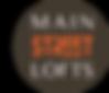 Main Street Lofts logo brown.png