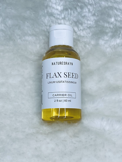 Organic Flax Seed Carrier Oil