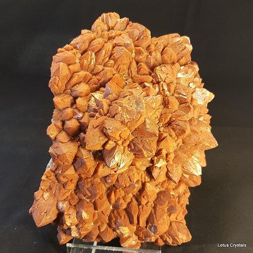 Red Quartz Cluster