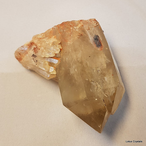 Natural Citrine Twin Point