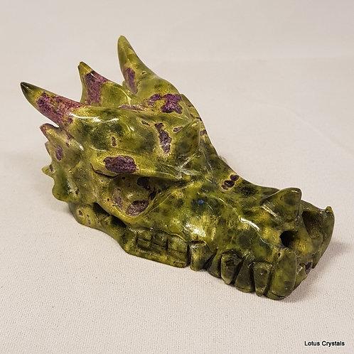 Atlantisite Dragon Skull
