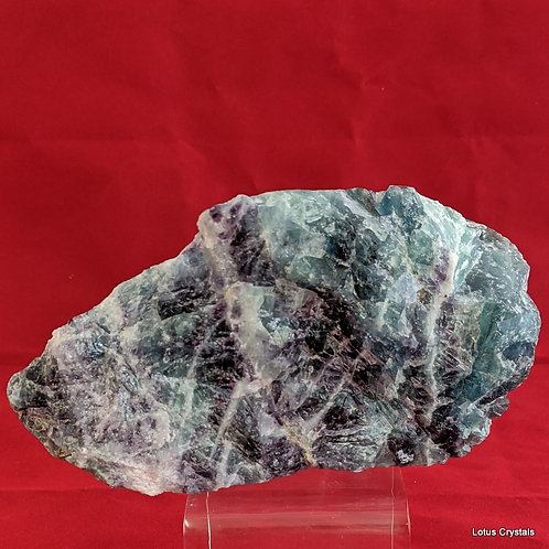 Green, Blue & Purple Fluorite