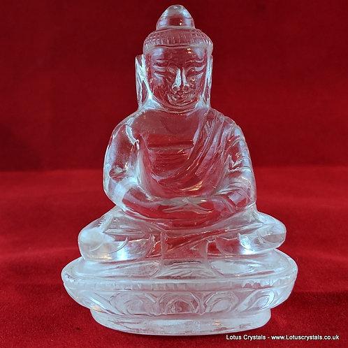 Clear Quartz Buddha