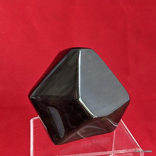 Rainbow Sheen Obsidian Freeform