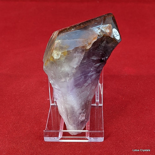Copper Tipped Amethyst Point