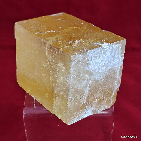 Optical Calcite, Honey (Icelandic Spar)