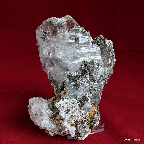 Faden & Micro Pyrite Quartz