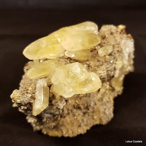 Lemon Calcite Cluster