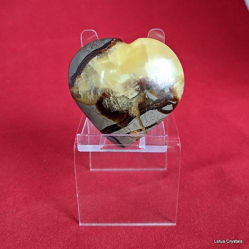 Septarian Nodule Heart