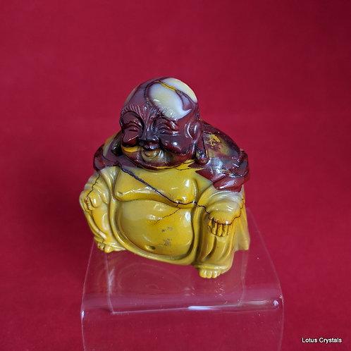 Mookaite Buddha
