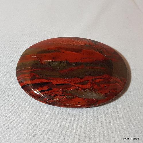 Brecciated Jasper Palm Stone