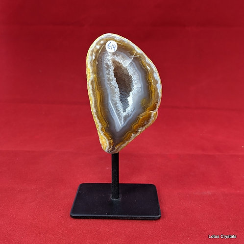 Agate, Natural on Stand