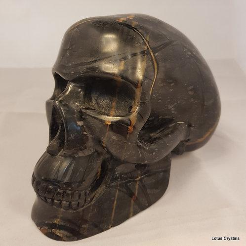 Picasso Stone Skull