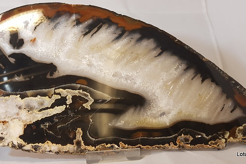 Agate, Natural Large Slice
