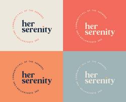 HerSerenity-primary logo group