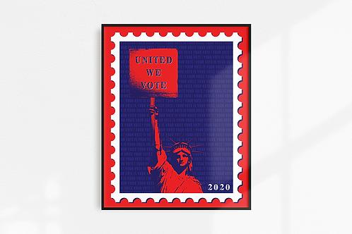 Vote 2020 - 8x10 Print