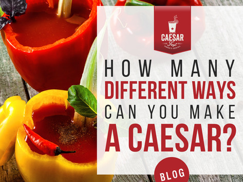 How Many Different Ways Can You Make a Caesar?