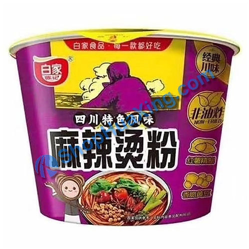 03 Hot Spicy Flv Instant Vermicelli 白家陈记 麻辣烫粉 碗装 105g