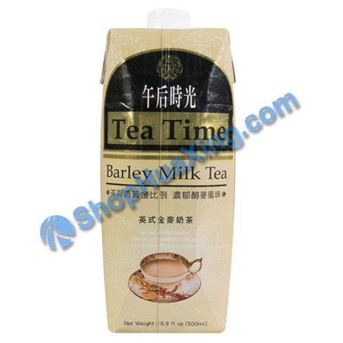 04 Barley Milk Tea 午后时光 英式金麦奶茶 500ml