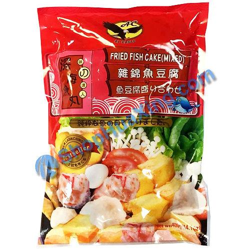 05 AC Eagle Fried Fish Cake Mixed 深海鱼丸 杂锦鱼豆腐 400g