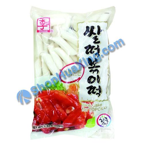 06 Korean Rice Cake for Topokki 李 韩国年糕条 1.32LB