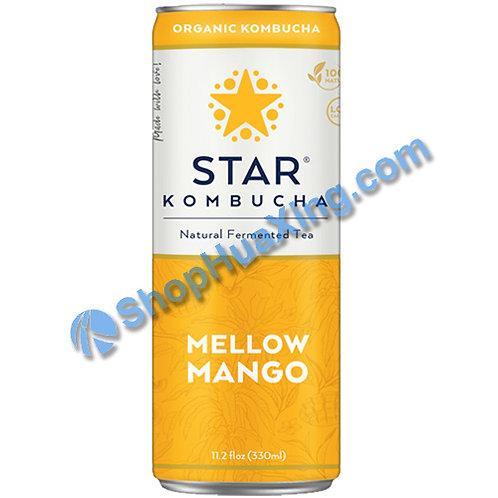 04 Star Kombucha Mellow Mango 养生减肥茶 芒果味 330mL