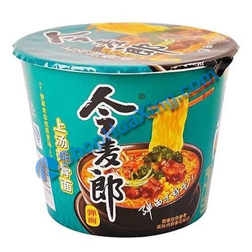 03 JML Stew Pork Flv Noodle 今麦郎 上汤排骨面 碗装 116g