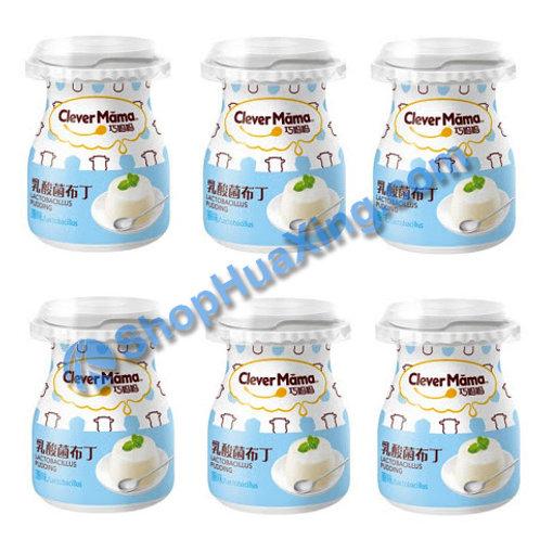 04 Yogurt Pudding 巧妈妈 乳酸菌布丁 原味 6x85g