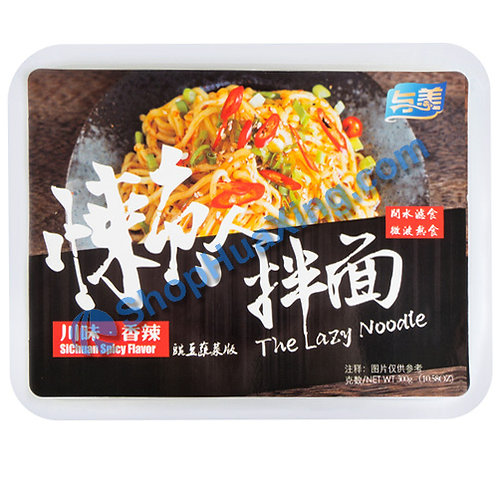 03 The Lazy Noodle w. SiChuan Spicy Flv. 与美 懒人拌面 川味香辣 300g