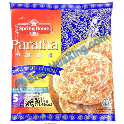 05 Roti Paratha Whole Wheat 第一家 印度煎饼 全麦 325g