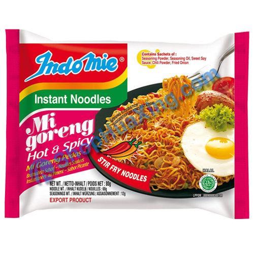 03 Indomie Mi Goreng Hot & Spicy Noodles 印尼香辣炒面 80g