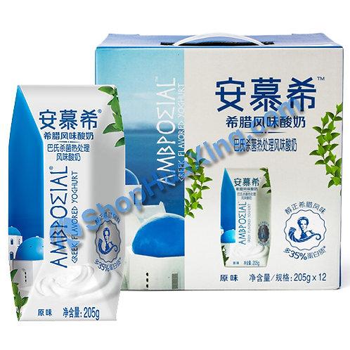 05 AMX Yogurt Drink Original 安慕希希腊风味酸奶 原味 205g x 12 (1箱)