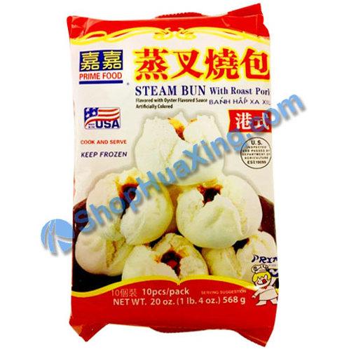05 Prime Food Steam Bun With Roast Pork  嘉嘉 港式蒸叉烧包 20oz