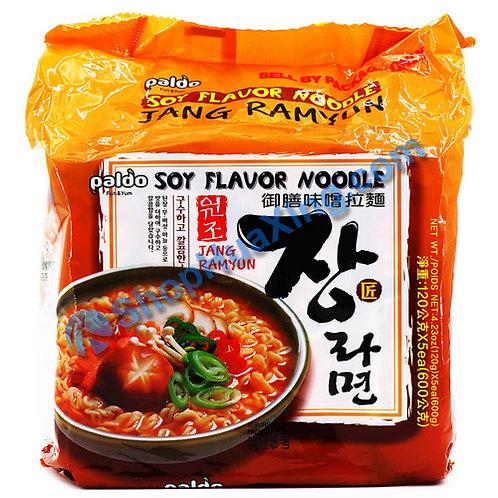 03 Paldo Soy Flv Noodle  八道 御膳味噌拉面 5包装X 120g