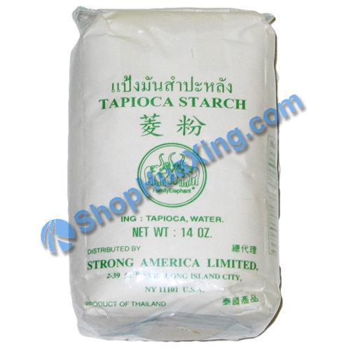 03 Family Elephant Tapioca Starch 五象 菱粉 14oz