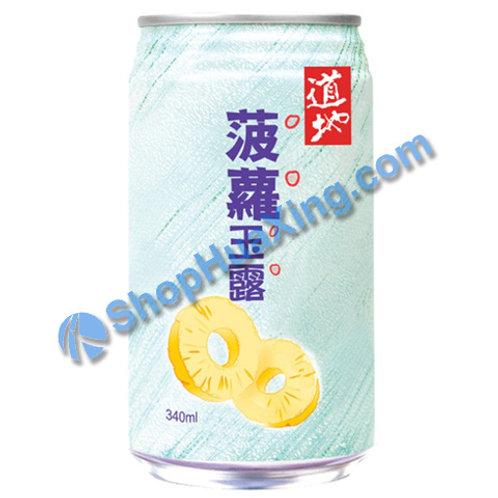 04 Pineapple Juice Drink 道地 菠萝玉露 340ml