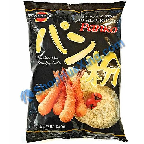 03 J-Basket Panko Flakes Bread Crumbs 日本面包粉 340g