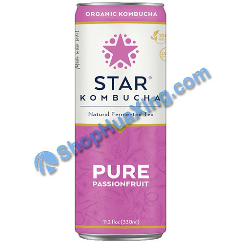 04 Star Kombucha Pure Passionfruit 养生减肥茶 百香果味 330mL